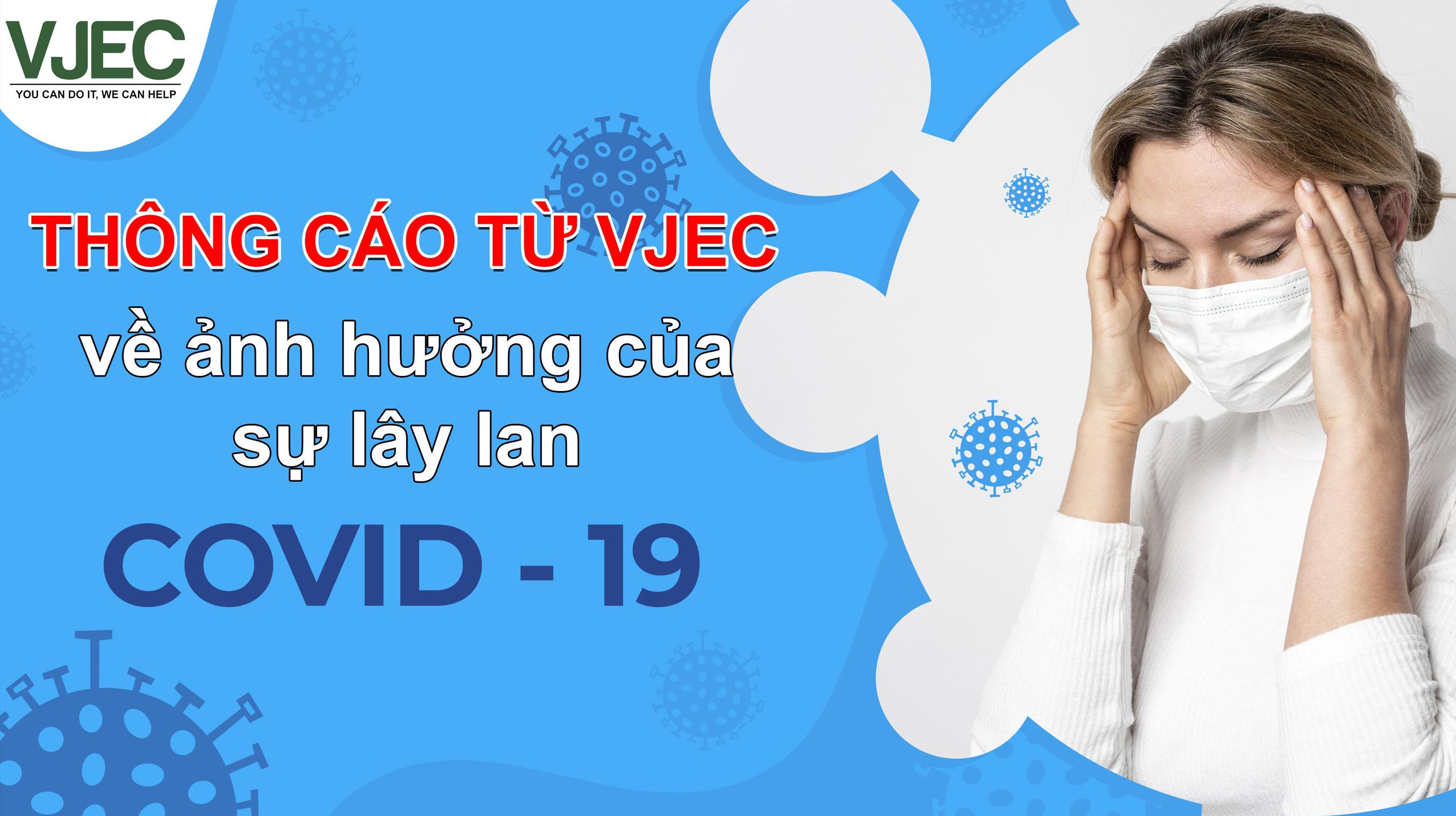Thông cáo từ VJEC covid-19