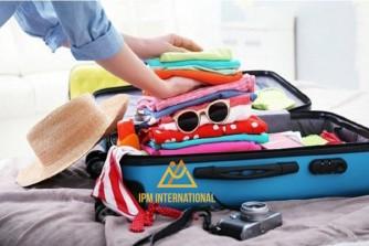 Những nguyên tắc xếp hành lý đi XKLĐ Nhật