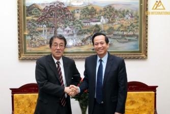 Bộ trưởng Đào Ngọc Dung: Hợp tác lao động giữa Việt Nam-Nhật Bản đạt được nhiều kết quả ghi nhận