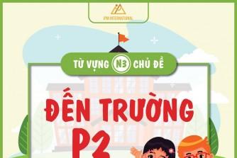 """Từ vựng N3 chủ đề """"back to school"""" - p2"""